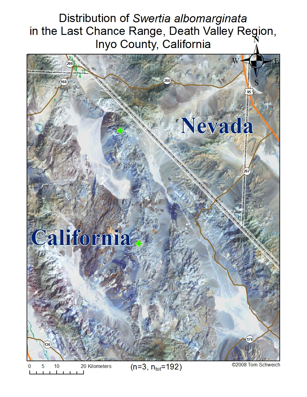 California, Inyo County, Death Valley Region