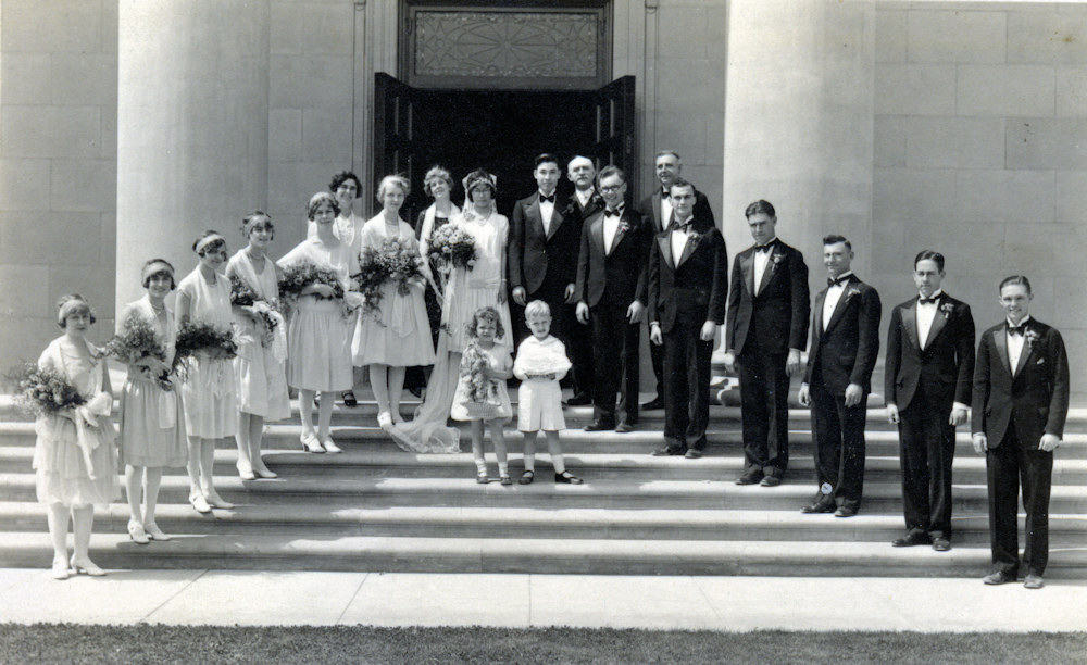 Wedding of Ivan Bell's Fraternity Brother