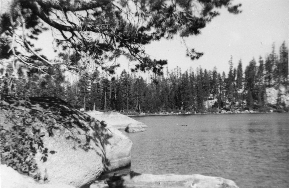 Echo Lake in Summer 1954.