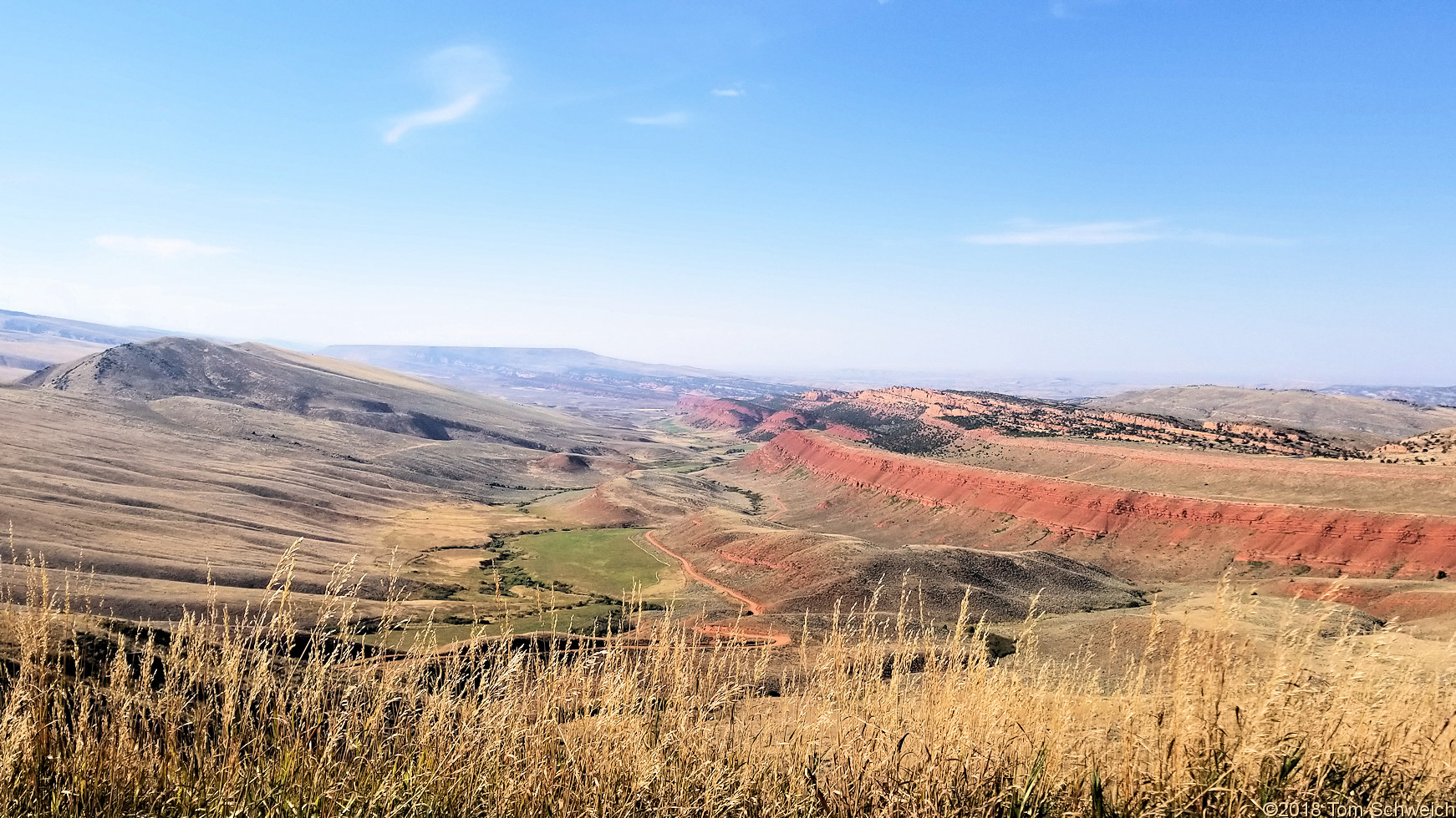 Wyoming, Fremont County, Red Canyon Rim