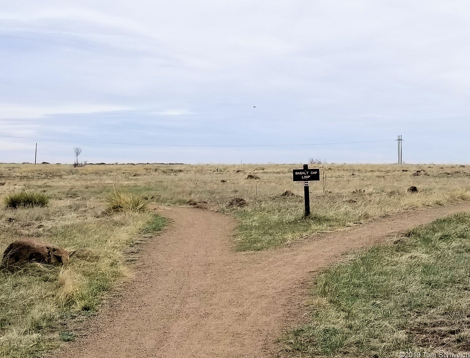 Colorado, Jefferson County, South Table Mountain, Cretaceous Trail, Basalt Top Trail