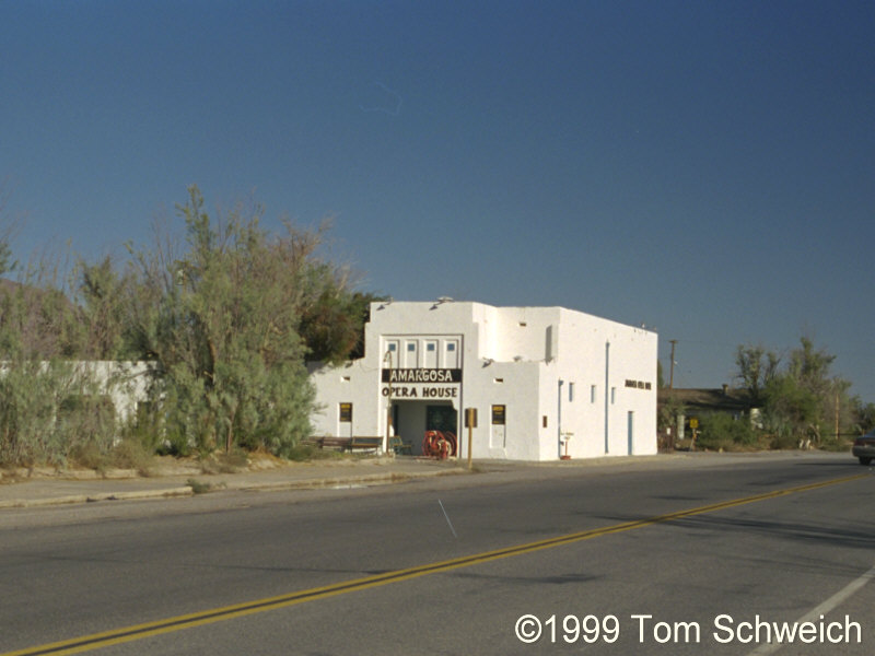 The Amargosa Opera House at Death Valley Junction.