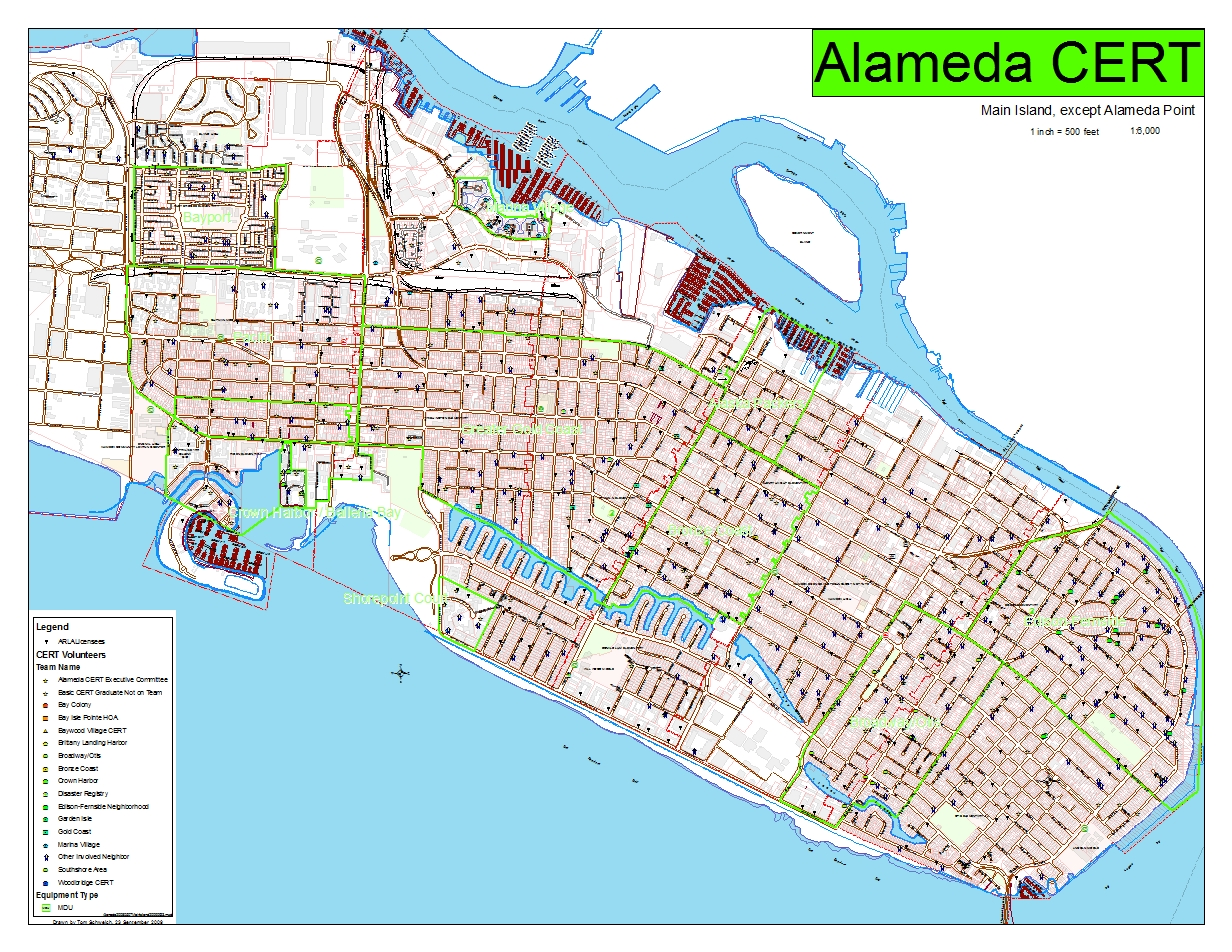 Photo Map of the Main Island