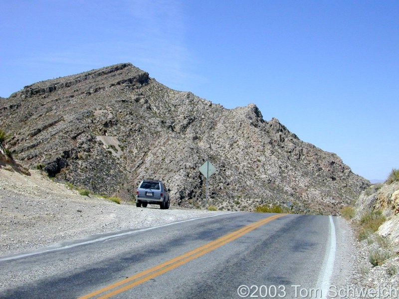 Columbia Pass, Clark County, Nevada