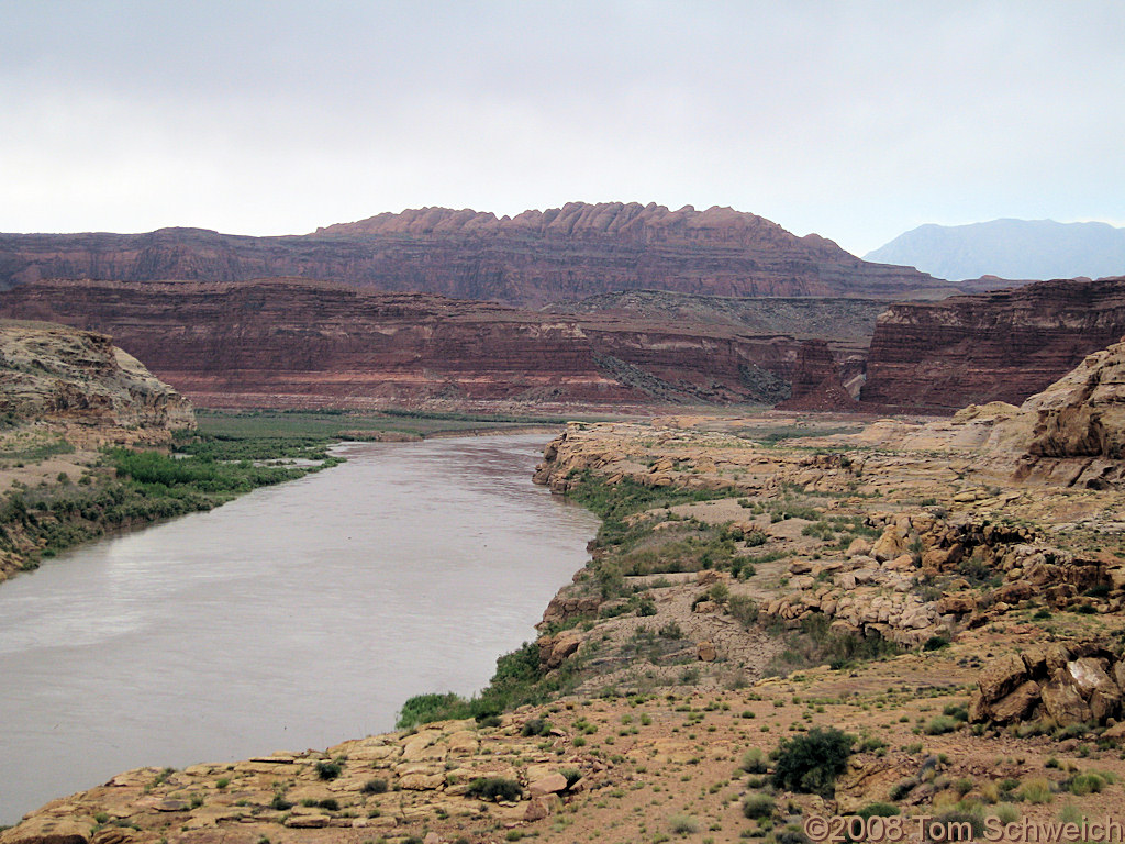 Utah, Garfield County, Colorado River