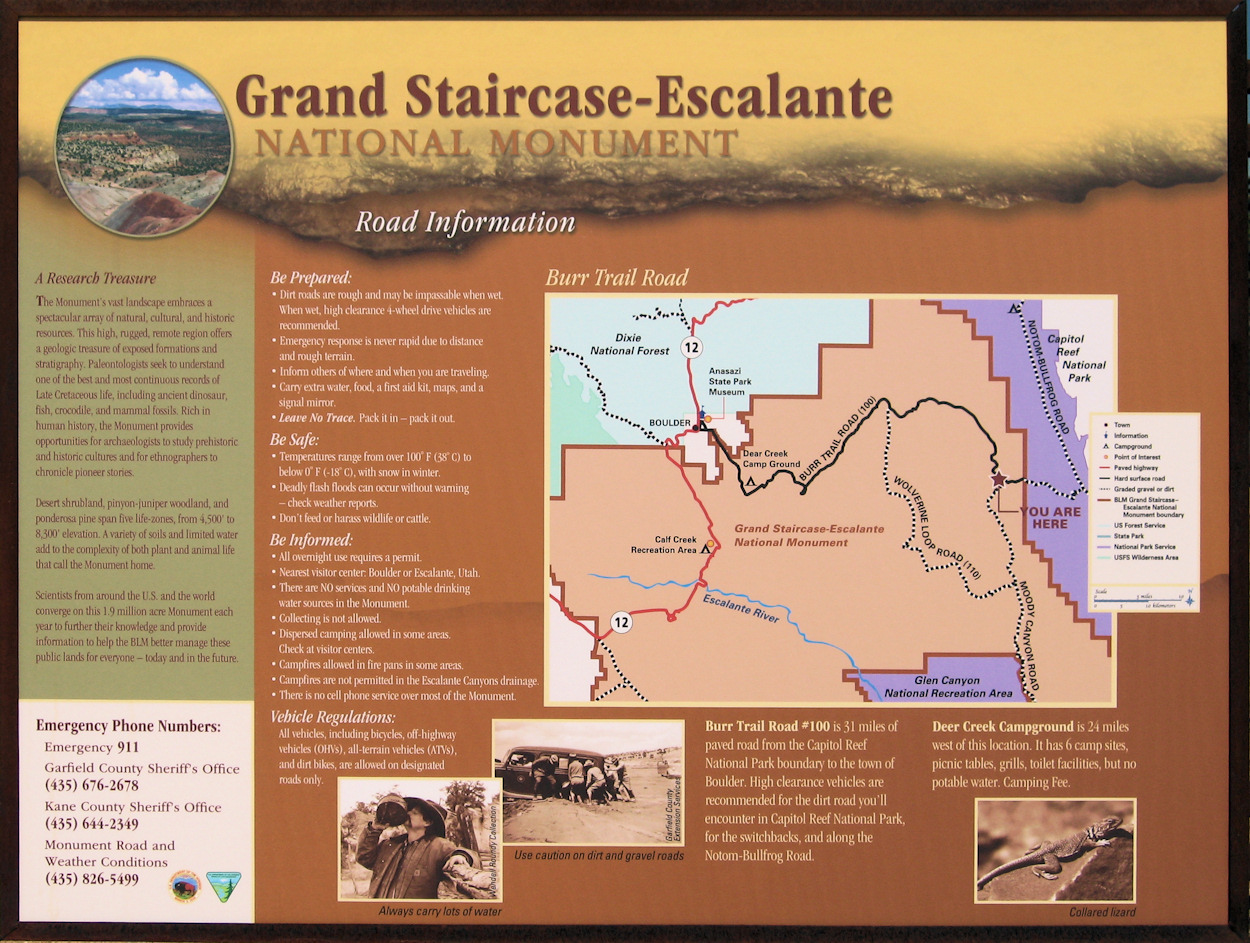 Utah, Garfield County, Grand Staircase - Escalante National Monument