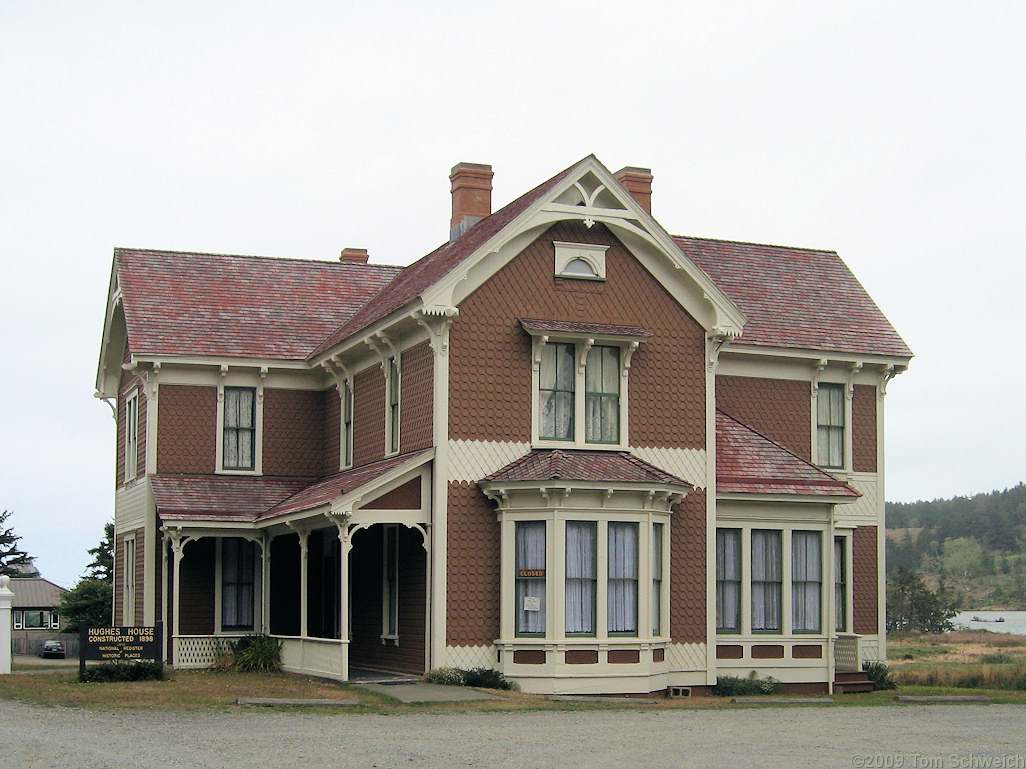 Hughes House, Curry County, Oregon