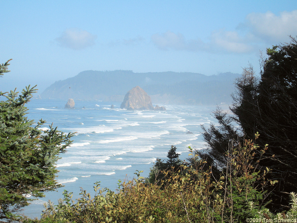 Haystack Rock, Clatsop County, Oregon