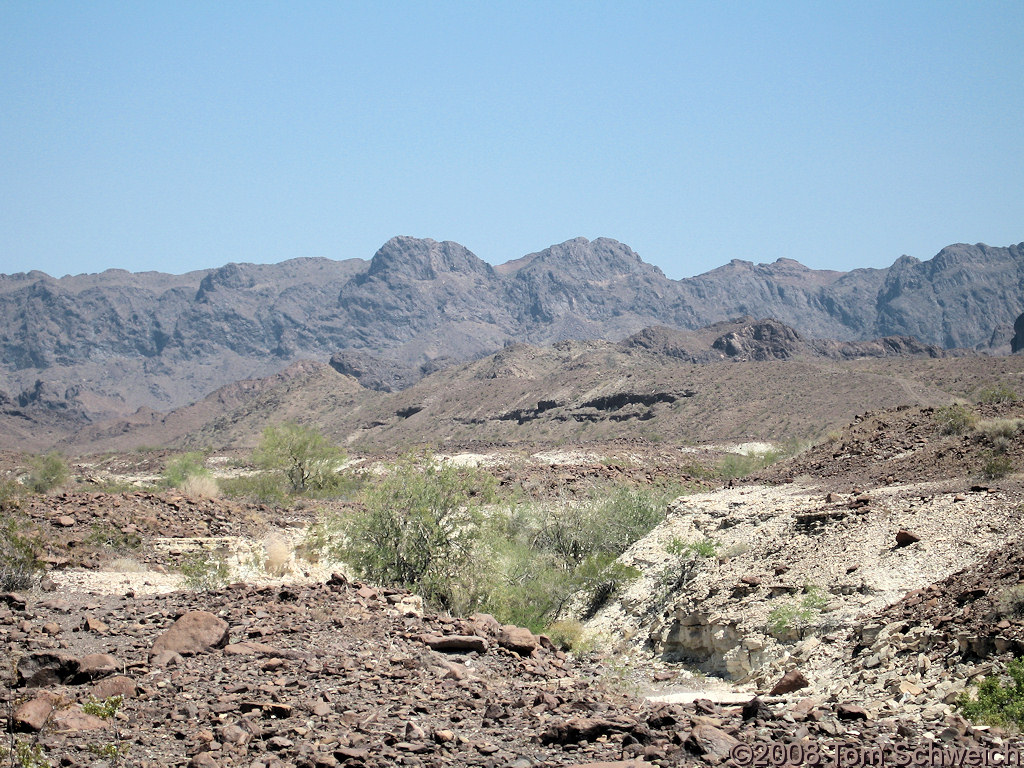 Arizona, La Paz County, Trigo Mountains