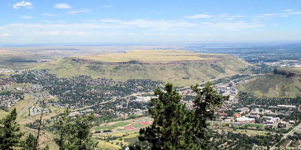 Colorado, Jefferson County, Lookout Mountain, Golden