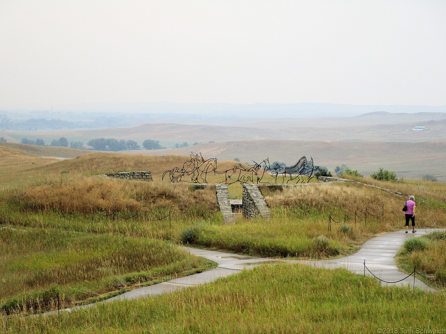 Montana, Big Horn County, Little Bighorn Battlefield National Monument