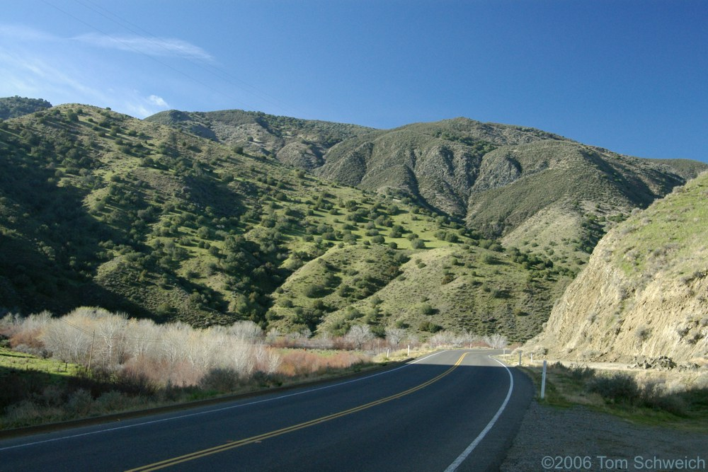 Warthan Canyon, Fresno County, California