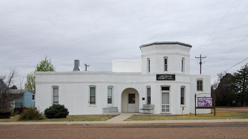 Old Jail Museum in Cheyenne Wells.
