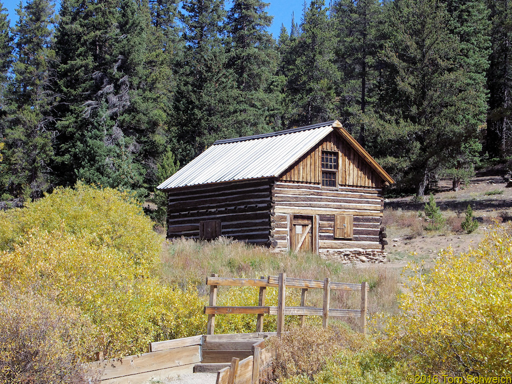 Colorado, Park County, Roberts Cabin
