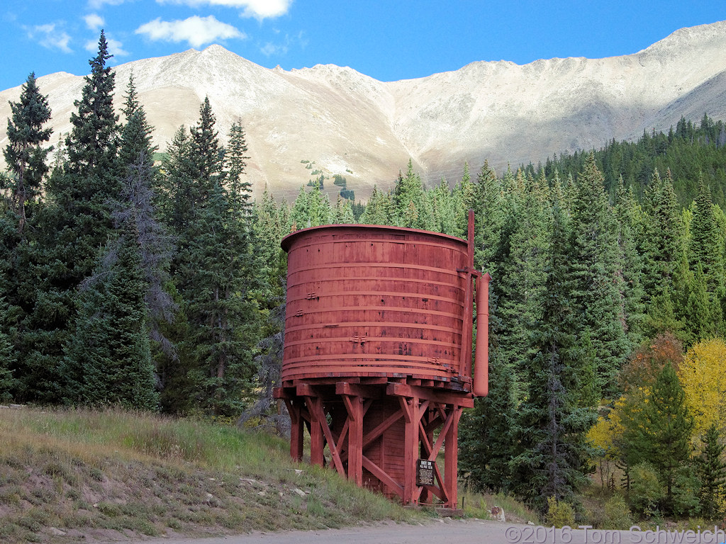 Colorado, Summit County, Baker Tank