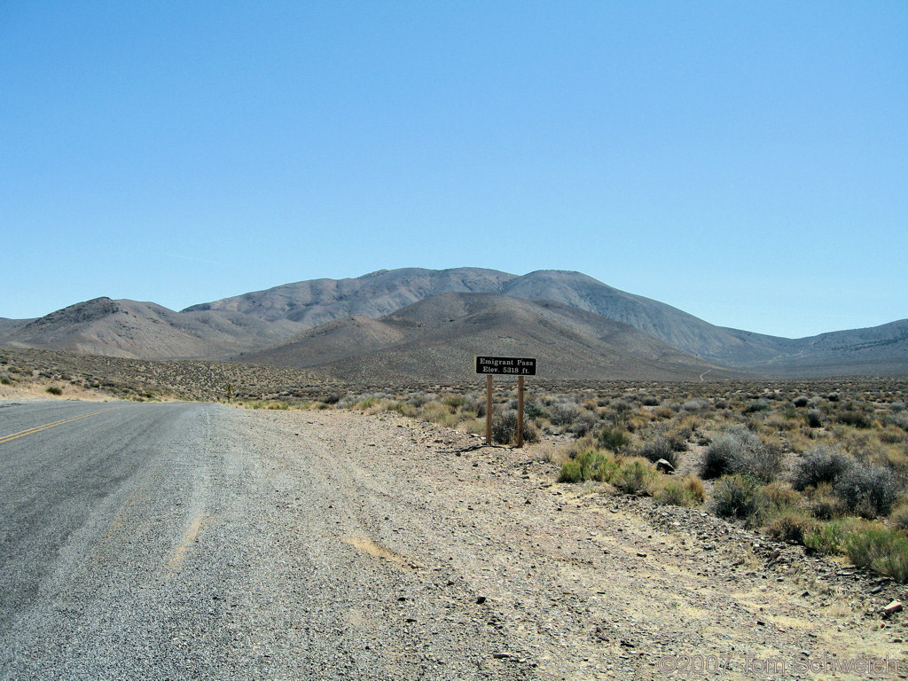 Emigrant Pass, Death Valley National Park, Inyo County, California