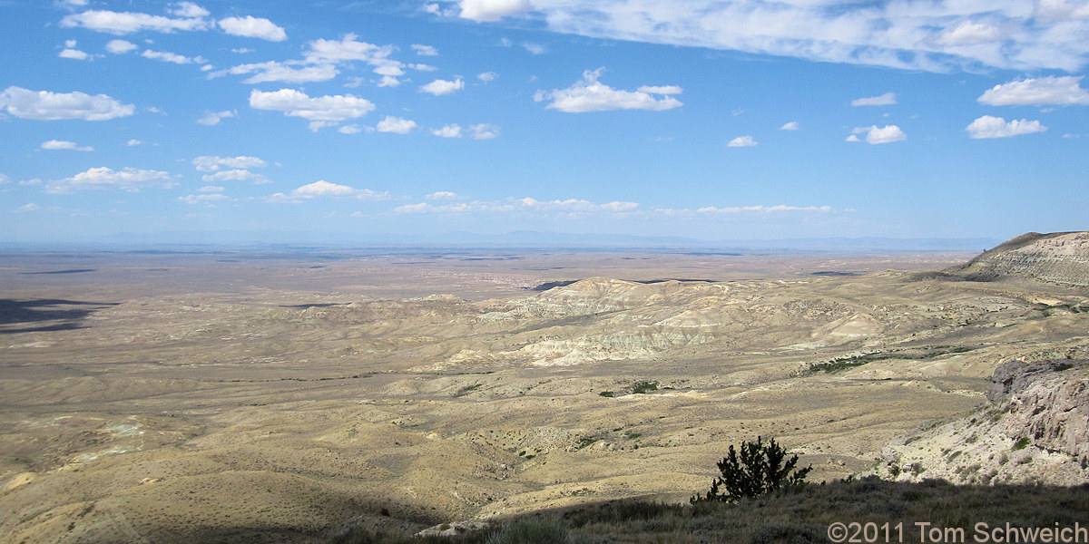 Wyoming, Fremont County, Wind River Basin