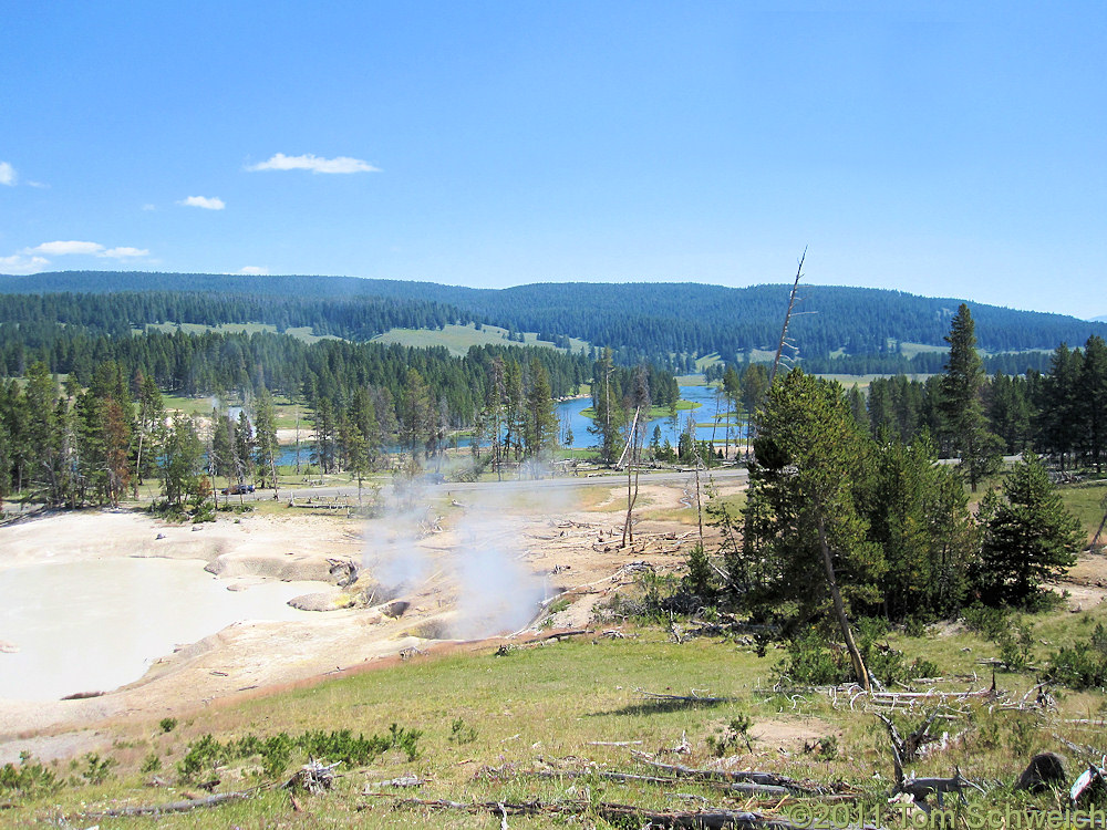 Wyoming, Park County, Mud Volcano